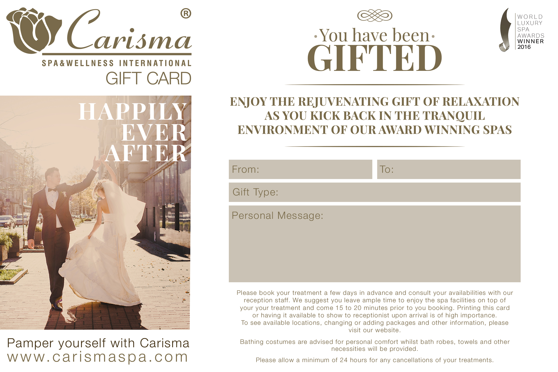 Bridal E Gift Card 100 Euro Voucher
